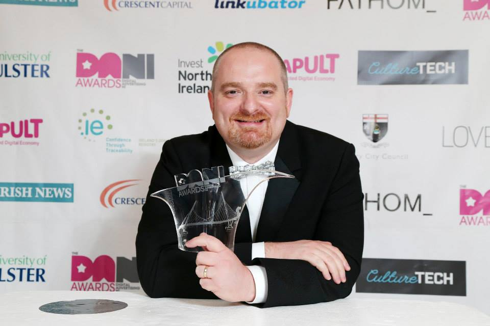 Barry Adams, NI Digital Industries Person of the Year 2014